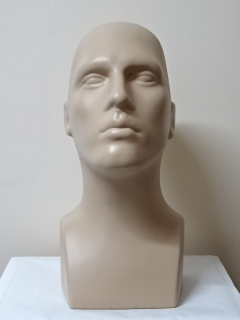 Pánska hlava 40cm