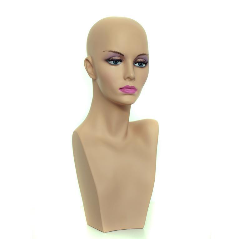 Hlava mannequin 45 cm