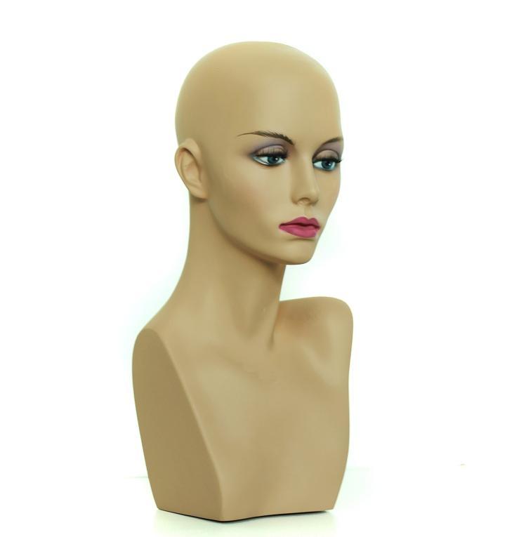 Hlava mannequin 35 cm